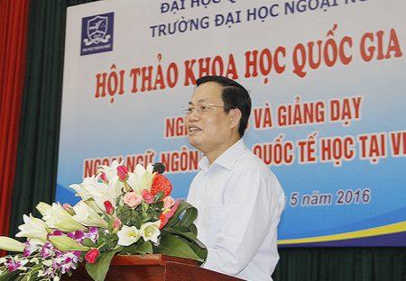 VNU - Hoi thao Khoa hoc Quoc gia ve ngoai ngu 20may2016 (1)